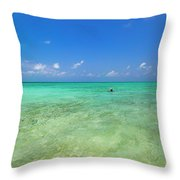 Your Dream Begins Here Throw Pillow