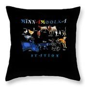 Your Friends At Minnamoolka Station Throw Pillow