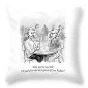 You've Read It? Throw Pillow