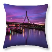 Zakim Sunset Throw Pillow