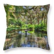 Zen Retreat Throw Pillow