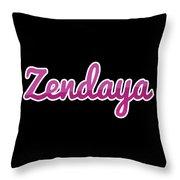 Zendaya #zendaya Throw Pillow