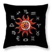 Zodiac Transparent Throw Pillow