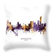Manchester England Skyline Digital Art By Michael Tompsett