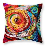 Acidfish Junior Throw Pillow