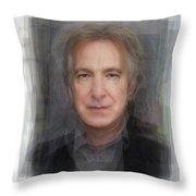 Alan Rickman Severus Snape Portrait Overlay Digital Art By Steve Socha