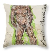 Angelo Throw Pillow For Sale By Deryl Daniel Mackie