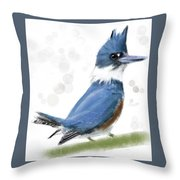 Belted Kingfisher Digital Art By Donna Hoo