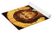 Christ The Pantocrator Icon II Yoga Mat