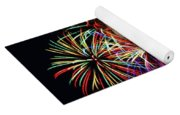Fireworks Across The Bay Yoga Mat