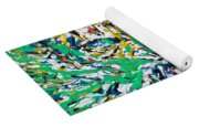Roaring Enamel Tiger Yoga Mat