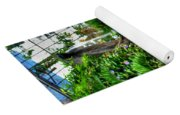 003 Falling Waters Buffalo Botanical Gardens Series Yoga Mat