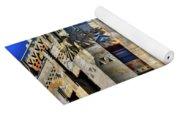 0049 Art Deco City Hall Yoga Mat