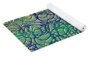 0122 Abstract Thought Yoga Mat