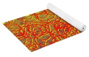 0124 Abstract Thought Yoga Mat