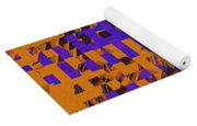0347 Abstract Thought Yoga Mat