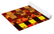 0409 Abstract Thought Yoga Mat