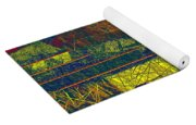 0466 Abstract Thought Yoga Mat