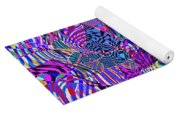 0476 Abstract Thought Yoga Mat