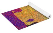 0787 Abstract Thought Yoga Mat