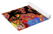0809 Abstract Thought Yoga Mat
