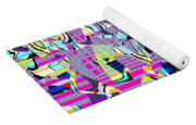 0978 Abstract Thought Yoga Mat