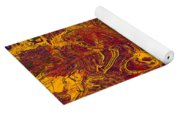 0202 Abstract Thought Yoga Mat