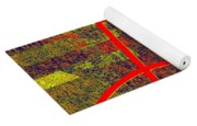 0225 Abstract Thought Yoga Mat