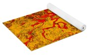 0503 Abstract Thought Yoga Mat