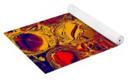 0576 Abstract Thought Yoga Mat