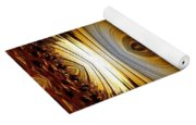African Moon Abstract Yoga Mat