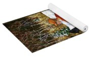 Behind The Wood Pile    Yoga Mat
