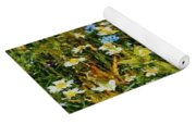 Blossoming Meadow Yoga Mat