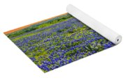 Bluebonnet Sunset  Yoga Mat
