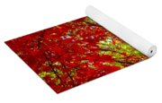 Crimson Window Yoga Mat