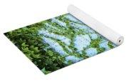 Door Framed By Plants Yoga Mat