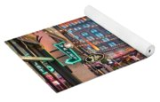 East Fourth Street In Cleveland Yoga Mat