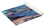Elevated View Of Gillette Stadium, Home Yoga Mat