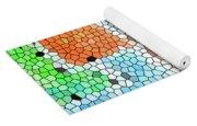 Geometric Abstract Yoga Mat