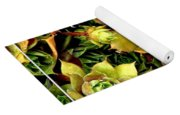 Hens And Chick Plants Yoga Mat
