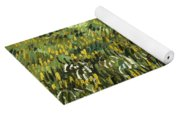 House At Auvers Yoga Mat