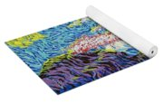 In The Flow Of Life Yoga Mat
