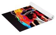 Led Zeppelin Art Yoga Mat