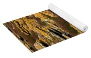 Lichened Rocks Yoga Mat