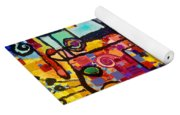 Lost Papers And Urban Plans Yoga Mat