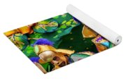 Mardi Gras Float Yoga Mat