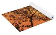 Orange Morning Yoga Mat