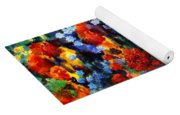 Red And Blue Yoga Mat