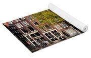 Singel Canal Houses In Amsterdam Yoga Mat
