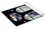 Stained Glass Window Yoga Mat